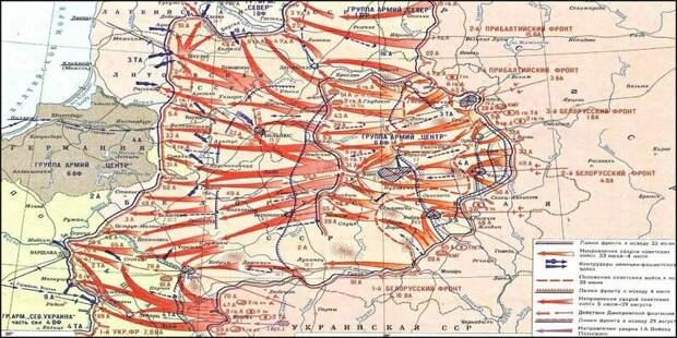 Пять поворотных моментов операции «Багратион»: как немцы потерпели самое крупное поражение Великая Отечественная Война, СССР, война, история, победа