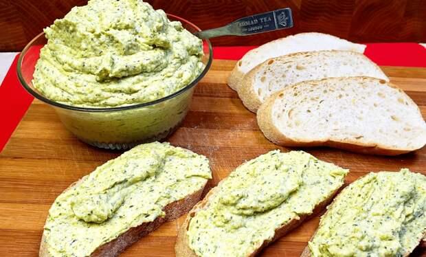 Летняя намазка для бутербродов: сытно, вкусно и доступно
