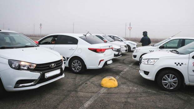 Ростовские таксисты взвинтили цены из-за дождя