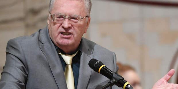 Жириновский остается на месте?
