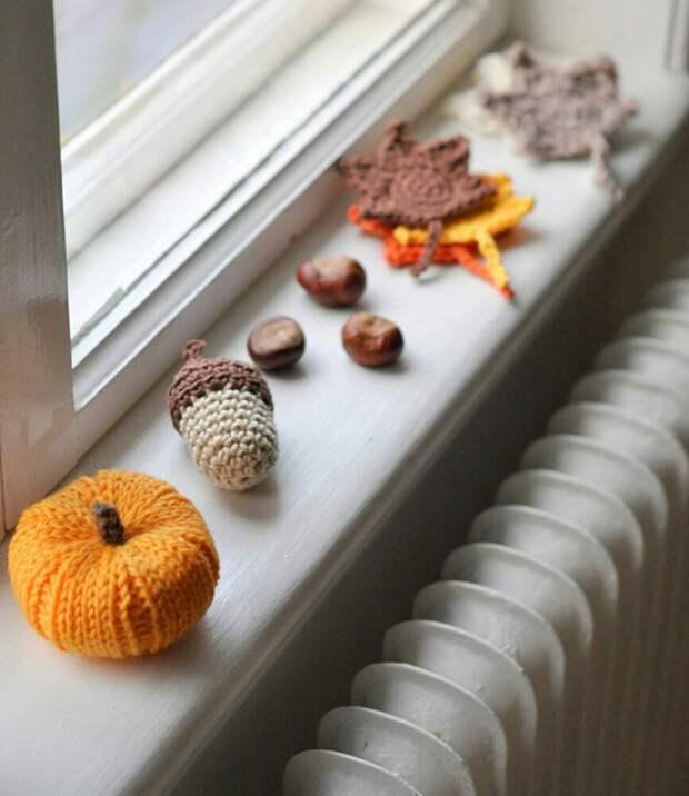 Вязаная осень (подборка)