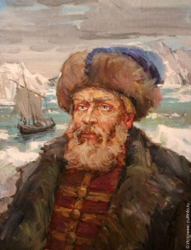 Семен Дежнев: от Якутска и Колымы до Анадыря и Берингова пролива