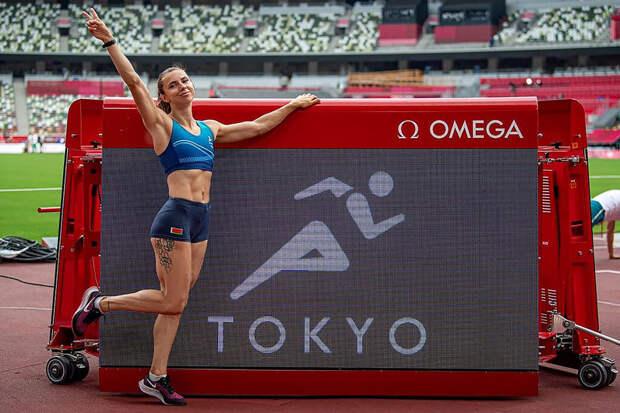Белорусскую легкоатлетку выгнали с Олимпиады за критику чиновников