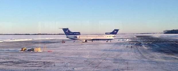 Метель заставила перенаправить в Пермь самолет рейса Москва-Ижевск