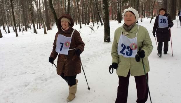 В Подмосковье будут проводить соревнования по скандинавской ходьбе