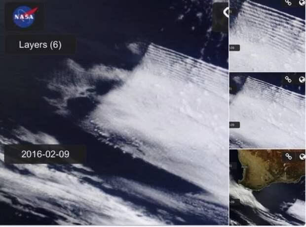 Всемирная аномалия: квадратные облака