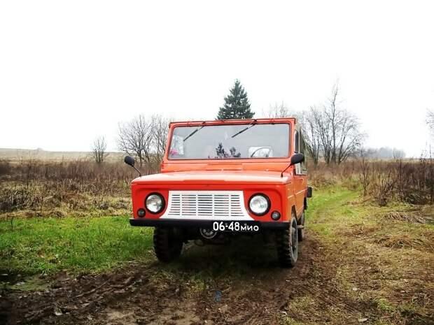 Этот советский внедорожник не боялся грязи и проходил там, где трактора вставали, ЛуАЗ 969!