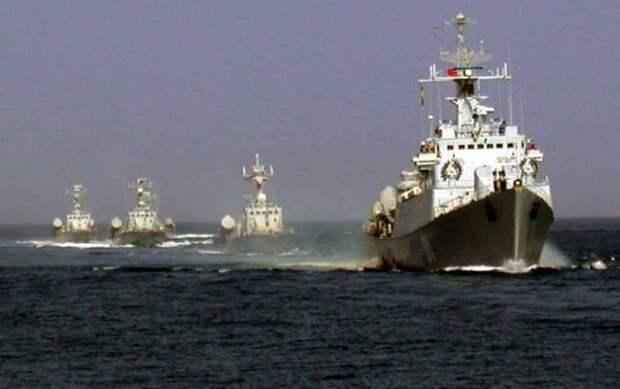 Сербский флот вдали от глади моря