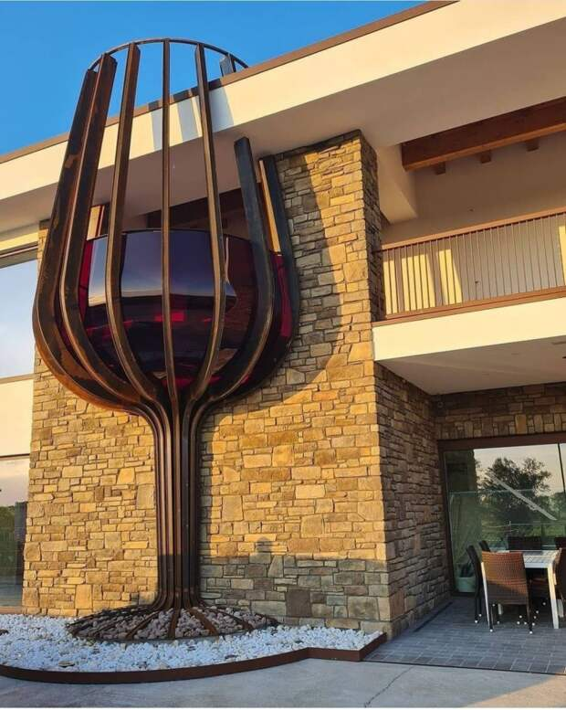 Архитектура винодельни