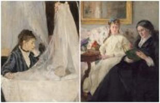 Современное искусство: 10 душевных женских картин, на которых запечатлены прекрасные дамы: Берта Моризо