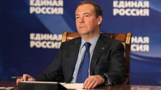 Зампред Совбеза РФ Дмитрий Медведев заболел