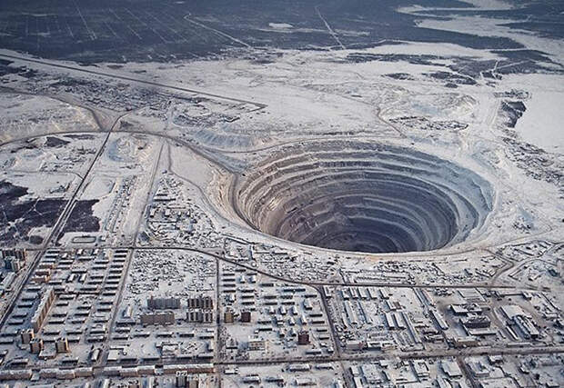 Рукотворные черные дыры на теле Земли