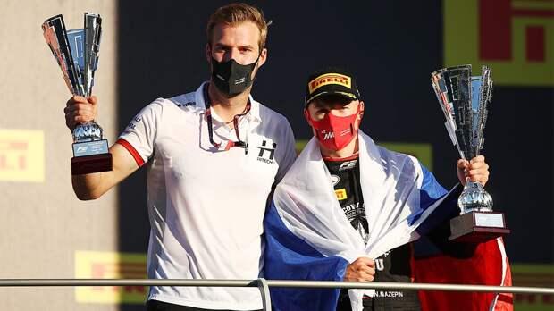 Русский гонщик Формулы-2 Мазепин выиграл длинную гонку в Италии с 14-го места. А в спринте выбил партнера с трассы