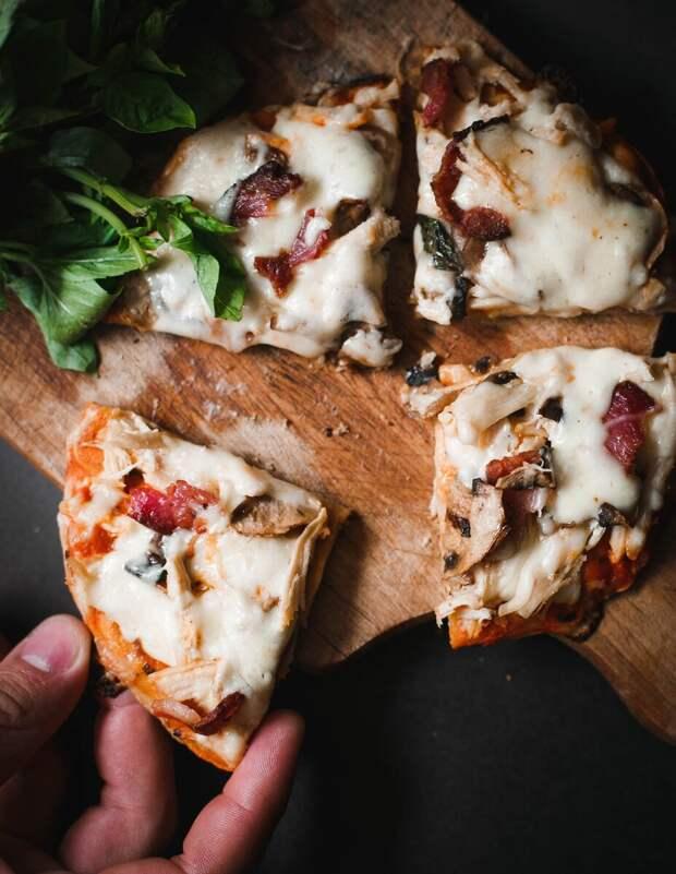 Пицца за три минуты или как удивить самого себя