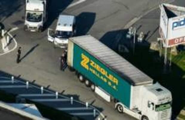 На юге Франции обнаружили грузовик с мигрантами