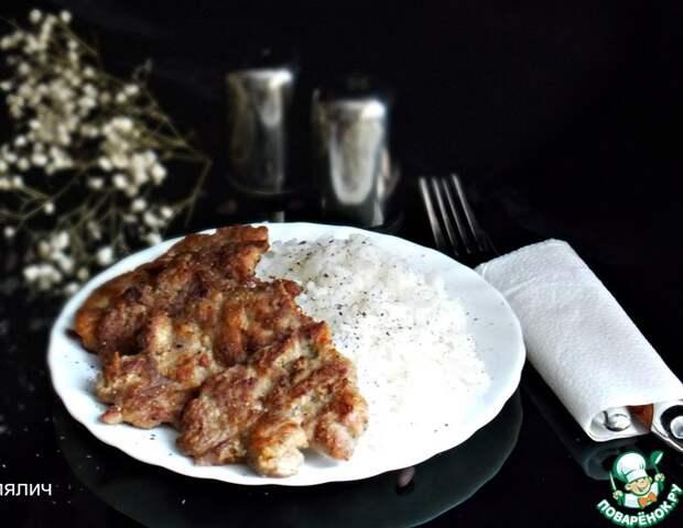 Рецепт: Экспресс-мясо