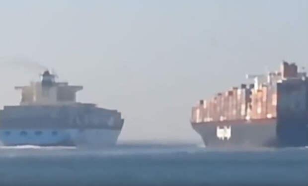 Огромные сухогрузы не поделили океан: капитаны пошли на принцип