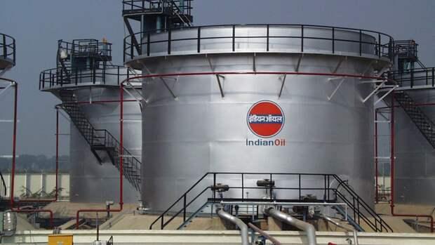 Indian Oil сокращает переработку сырой нефти