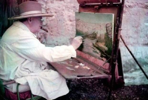 Image result for Пейзажи Уинстона Черчилля: не только политик