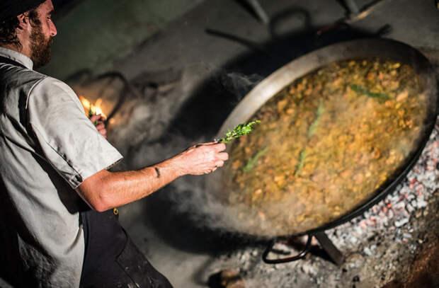 Паэлья: потрясающее блюдо из риса