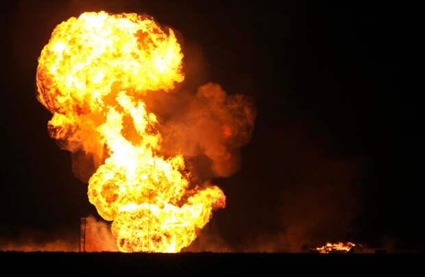 Во время взрыва в Керчи женщина получила ожоги