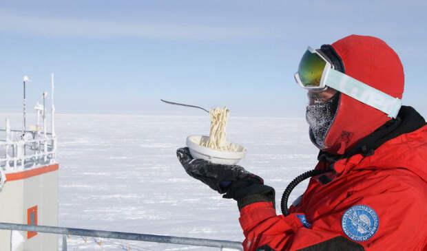 Что будет с едой в Антарктиде