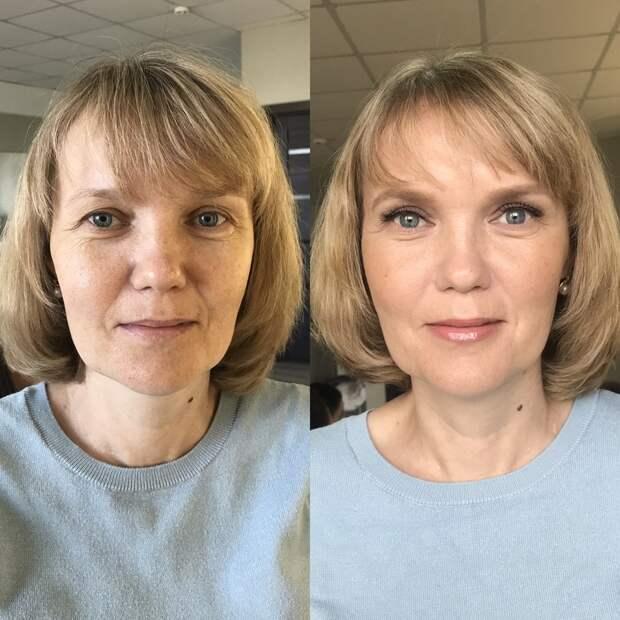Косметичка и повседневный макияж для женщин 50+