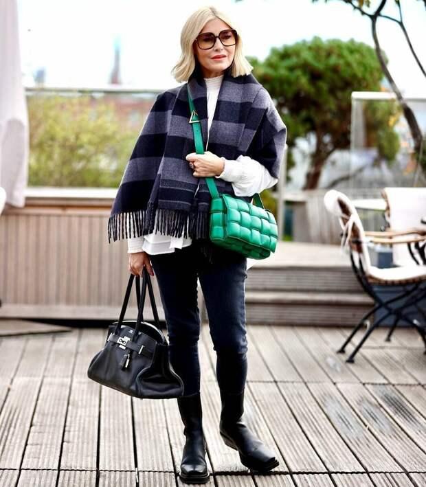 Как выглядеть стильно в свои 50+: 12 сногсшибательных образов для дам элегантного возраста