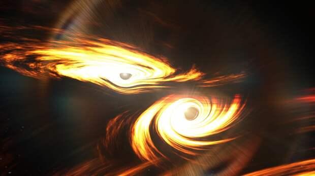 Зафиксировано самое отдаленное столкновение черных дыр, породившее гравитационные волны