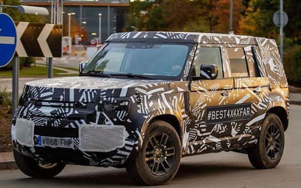 Land Rover Defender: первые фото серийной машины