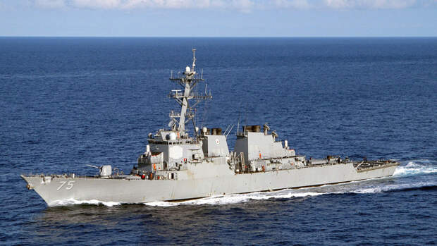Аналитик назвал «тактической уловкой» отмену захода эсминцев ВМС США в Черное море