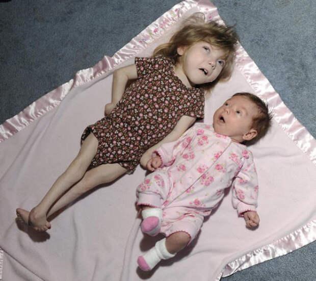 Две девочки, которые никогда не постареют