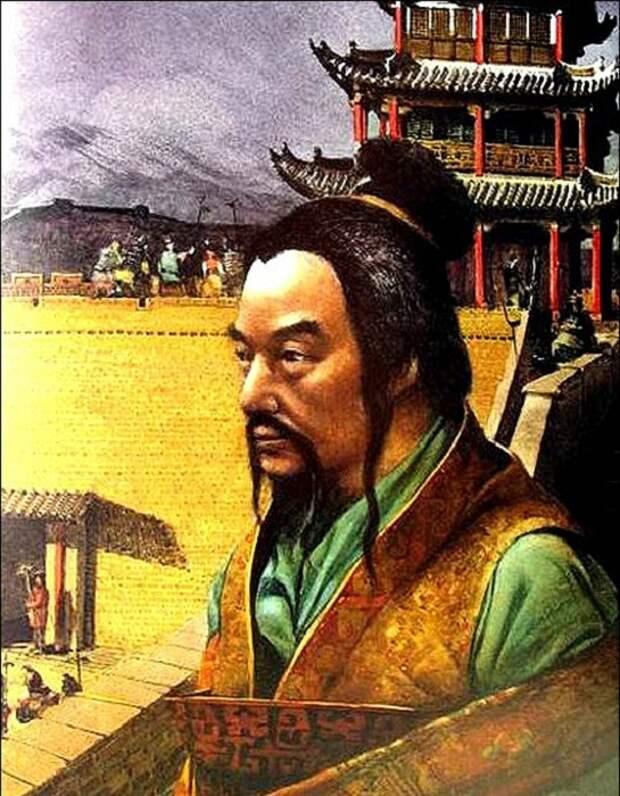 Цинь Ши Хуанди - 1-й китайский император династии Цинь.   Фото: storyfiles.blogspot.ru.