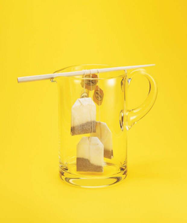 Палочки для еды используются как инструмент пивоварения
