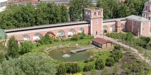 Две башни Донского монастыря отреставрируют к 2020 году