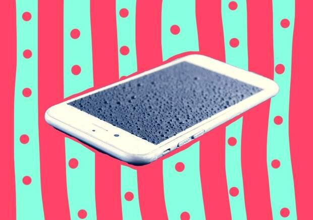 Спасение утопающего: как высушить мобильный телефон