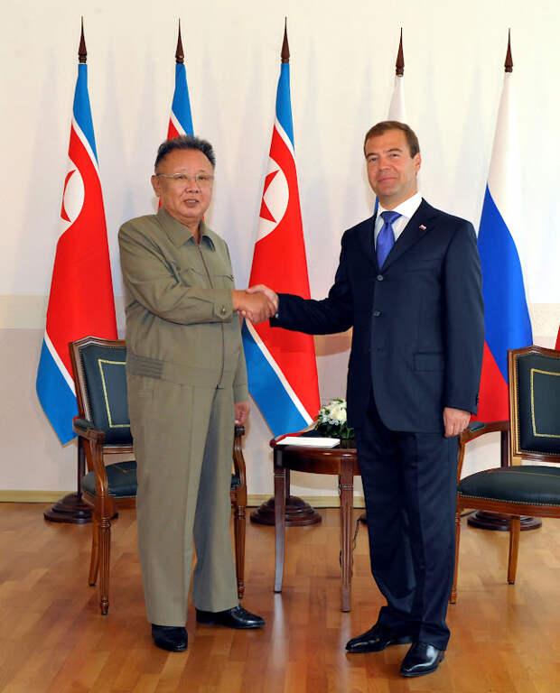 10 лет визиту Ким Чен Ира в Россию