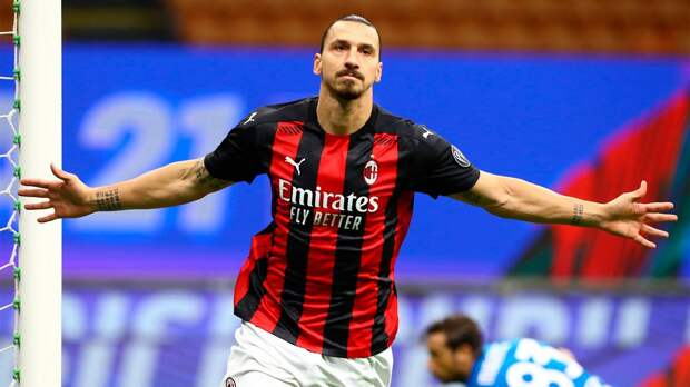 «Ниндзя». Ибрагимович забил эффектный гол на тренировке «Милана»