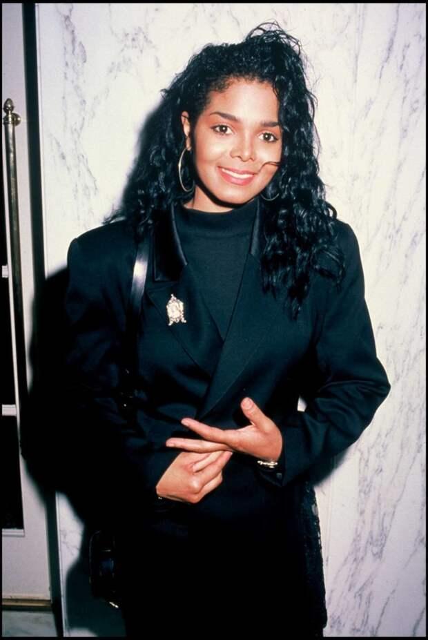 Джанет Джексон тогда актриса, внешность, знаменитости, красота, люди, певица, тогда и сейчас