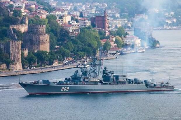 Украинский экс-замминистра Грымчак: Киев будет «уничтожать» корабли Черноморского флота России в случае нарушения ими границ