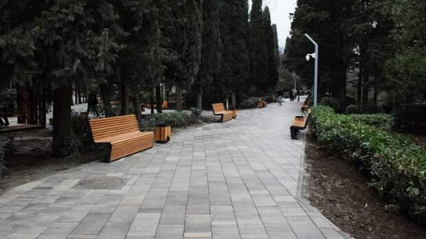 Для жителей и гостей Ялты открыли Пионерский парк