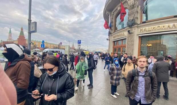 Россия отказалась выходить на митинг в поддержку Навального