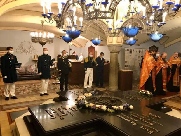 В Севастополе отметили годовщину морского сражения, вошедшего в историю Черноморского флота