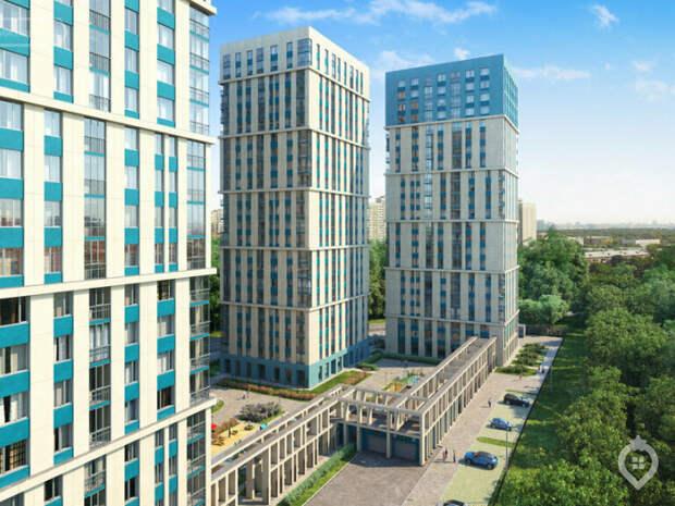 Жилой комплекс из четырех 23-этажных корпусов ввели в Бутырском