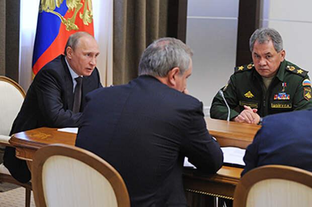 Владимир Путин провел совещание по вопросам ОПК, 14 мая 2014 года