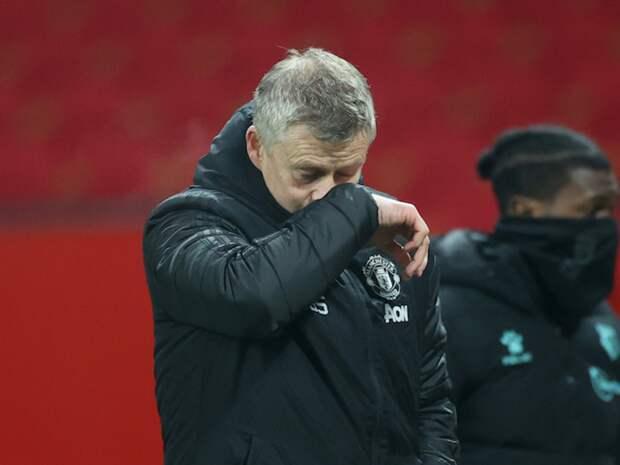 Сульшеру дали три матча на исправление ситуации в «Манчестер Юнайтед»