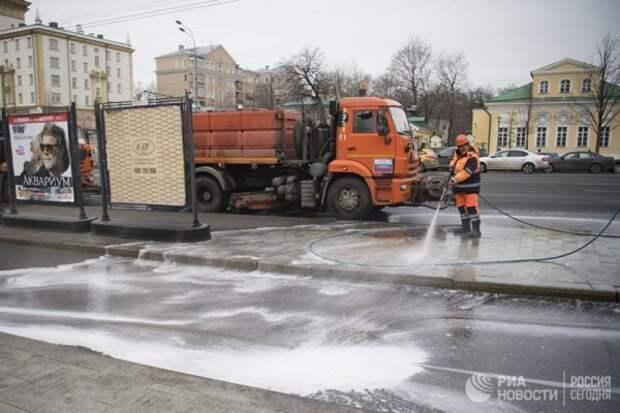 В центре крымской столицы образовались водяные «реки» (ФОТО)