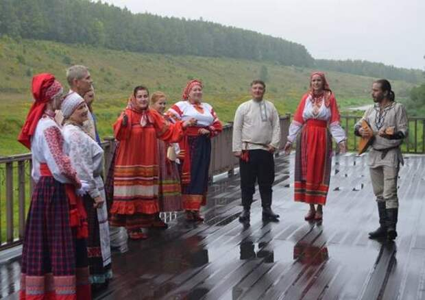 В Тульской области впервые прошел фестиваль «Засечная черта»