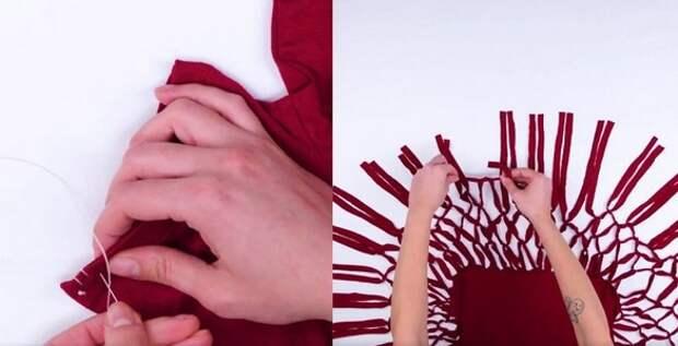 Переделки одежды (подборка)