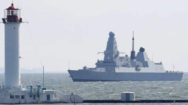 Сергей Марков: Ситуация с британским кораблем у Крыма у Фиолента показывает, насколько деградировала Британия